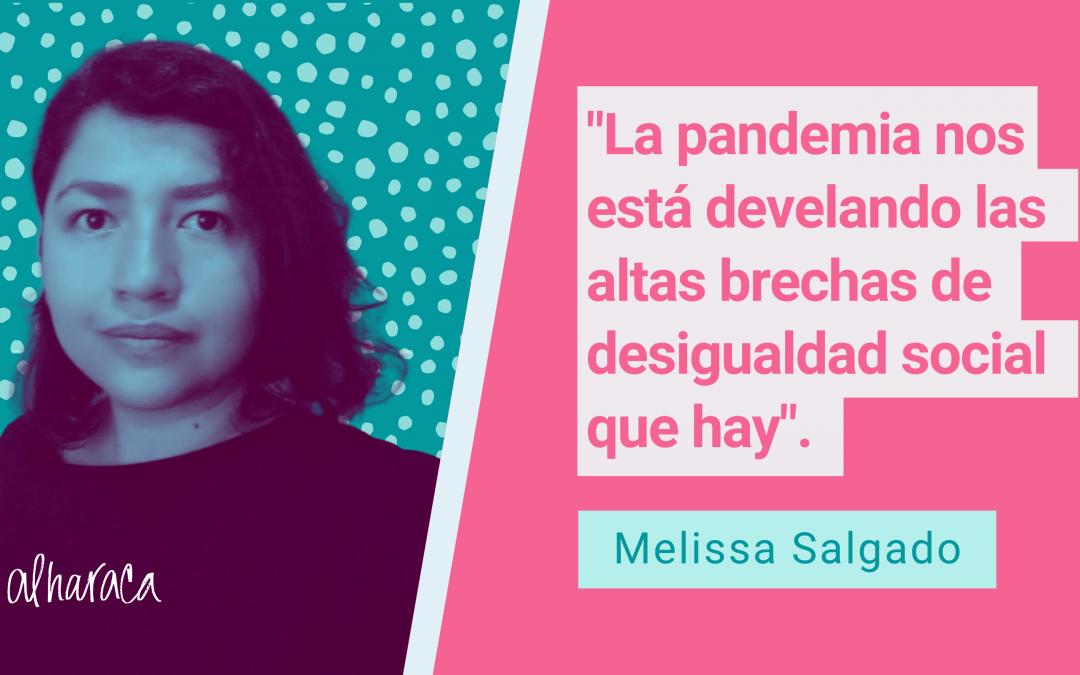 """Melissa Salgado: """"Es muy importante que las medidas que se propongan partan del resguardo de la democracia"""""""