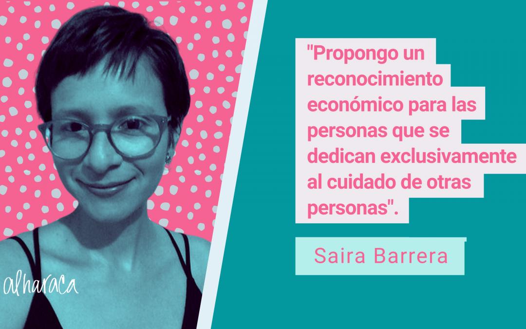 """Saira Barrera: """"Un componente no contributivo de pensiones beneficiaría especialmente a mujeres"""""""