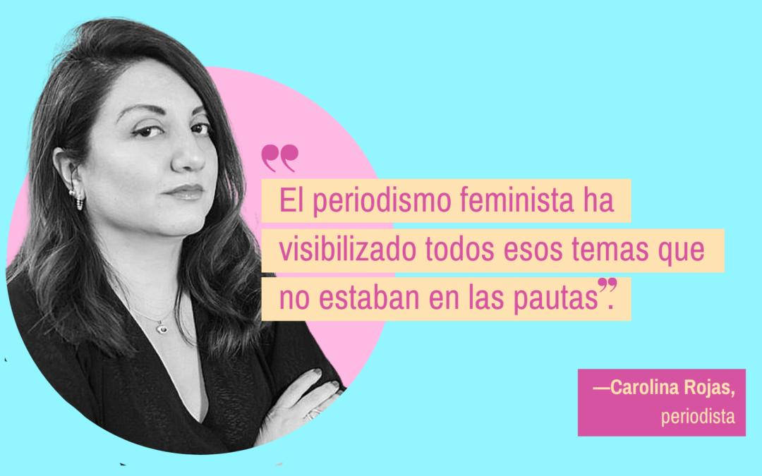 """""""El periodismo tiene que ser feminista"""""""