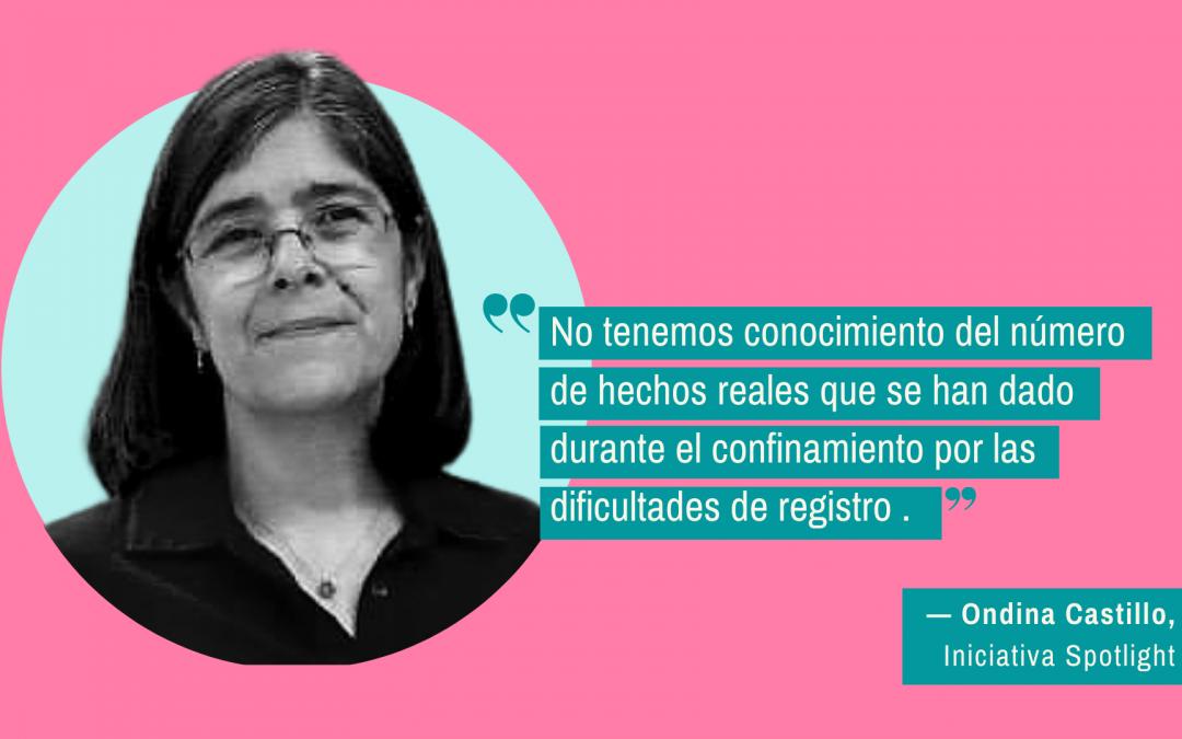 """""""No tengo la menor duda de que las mujeres han estado expuestas a mayor violencia durante el confinamiento"""""""